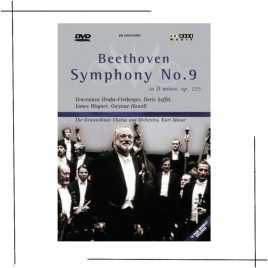 Kurt Masur, Beethoven Symphony No 9 Cover