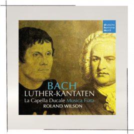 Luther-Kantaten Johann Sebastian Bach (CD)