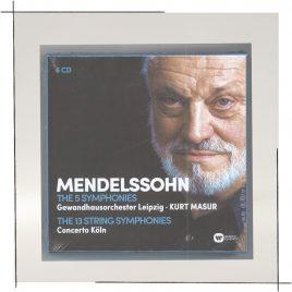 Cover Felix Mendelssohn Bartholdy: Symphonien Nr. 1-5