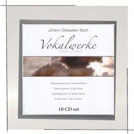 Cover Vokalwerke Johann Sebastian Bach
