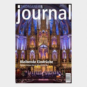 Thomanerchor in der Notre-Dame Basilica of Montreal