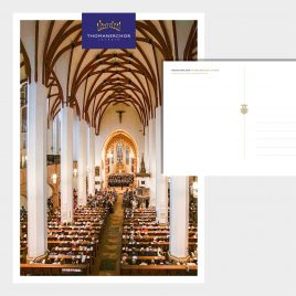 Postkarte Thomanerchor Thomaskirche