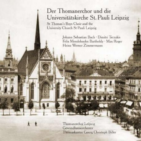 Thomanerchor und die Universitätskirche St. Pauli Leipzig