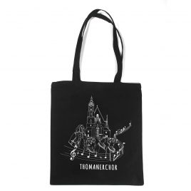 Thomaner-Beutel schwarz