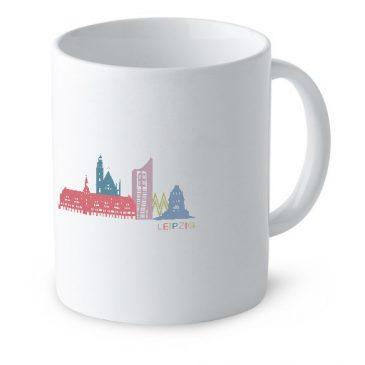 Leipzig Tasse [Skyline]