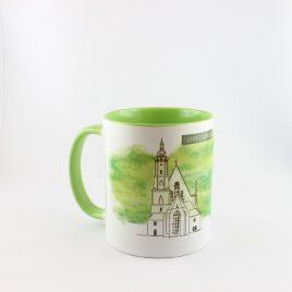 Die Leipzig Tasse Thomaskirche und Bach