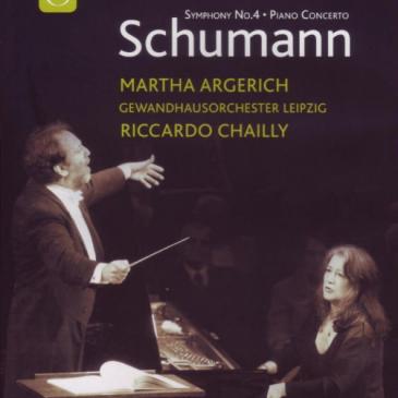Robert Schumann: Symphonie Nr.4 [DVD] Riccardo Chailly (Dir.)