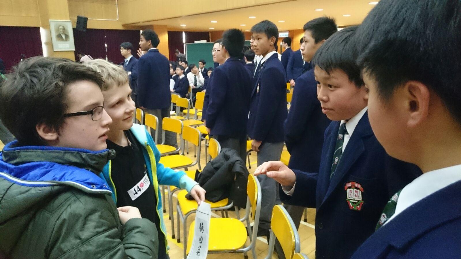 Thomanerchor auf Asienreise