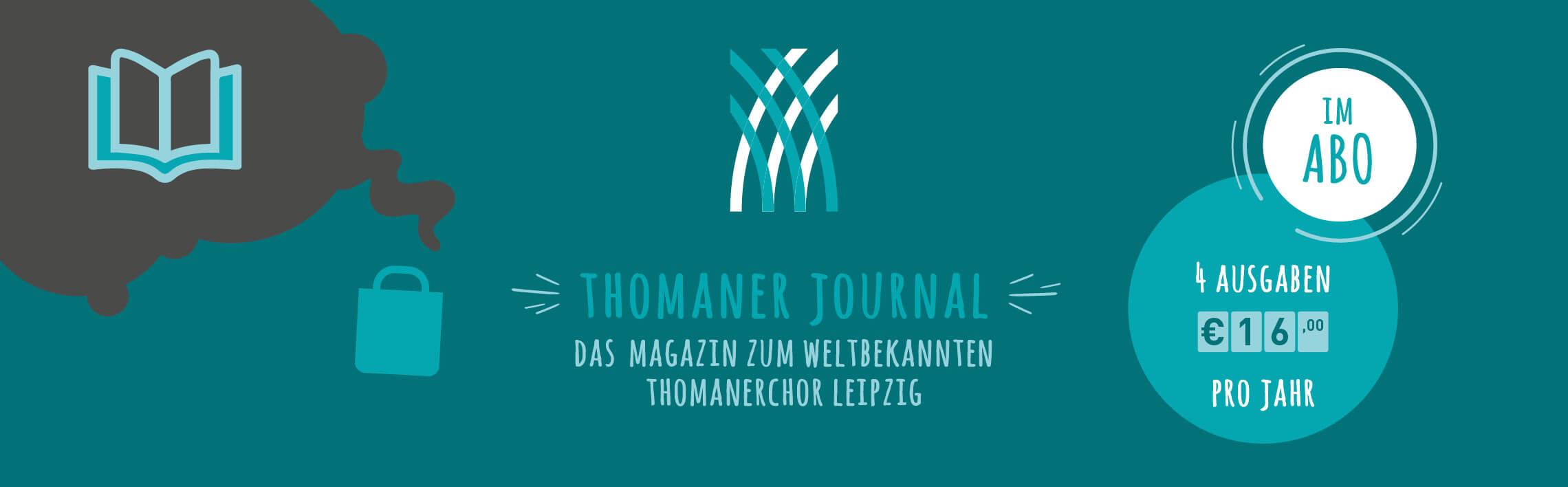 KulturShop Online Abonnement Thomaner Journal Musiksatdt Leipzig