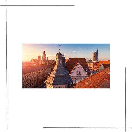 Leipzig Postkarten Set