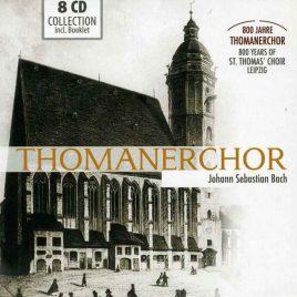 Thomanerchor Bach 8CDs