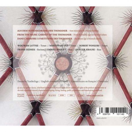 CD, Amarcord Armarium,  KulturShop Leipzig, Thomanerchor, Leipzig,  geistliche Werke