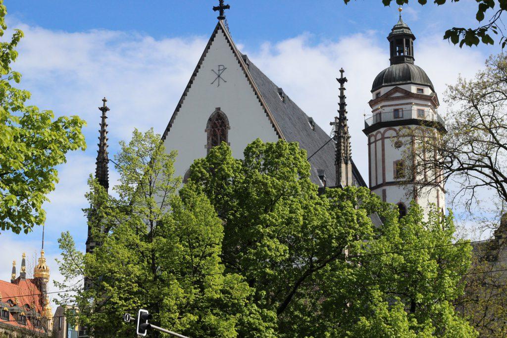 Thomaskirche mit Luhterfenster