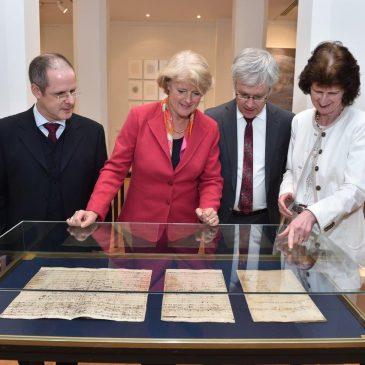 Bach-Archiv Leipzig zu Gast in der Vertretung des Freistaates Sachsen beim Bund