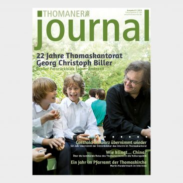 THOMANER journal 01|2015
