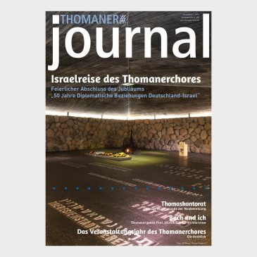 THOMANER journal 01|2016