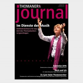 THOMANER journal 02|2016