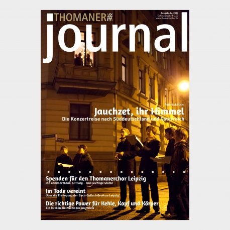 THOMANER journal 04|2014