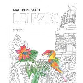 Male deine Stadt Leipzig Malbuch Kulturshop Leipzig