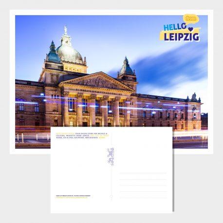 Postkarte Leipzig Bundesverwaltungsgericht