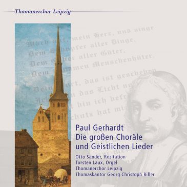 Paul Gerhardt – Die großen Choräle und Geistlichen Lieder (CD)