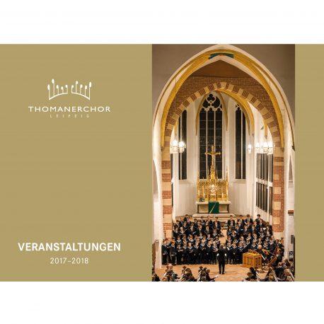 Thomanerchor Jahresprogramm 2017-2018
