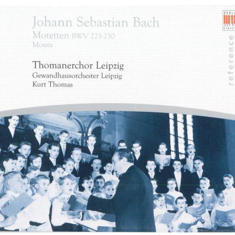 CD Die Motetten BWV 225-230