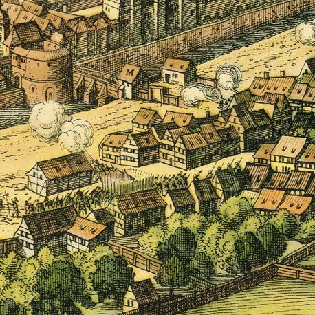 Leipzig 1620 Ausschnitt