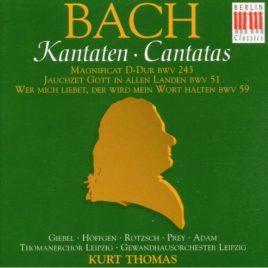 Johann Sebastian Bach: Kantaten BWV 243 BWV 51 BWV 59