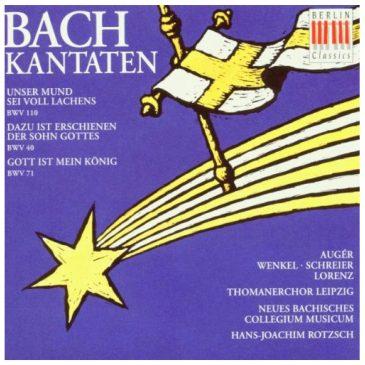 Johann Sebastian Bach: Kantaten BWV 40,71,110