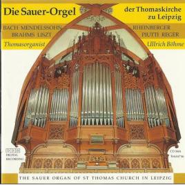 Die Sauer-Orgel der Thomaskirche Leipzig.