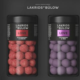 LAKRIDS LOVE BLACK BOX STRAWBERRY REGULAR & CRANBERRY REGULAR
