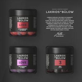 BLACK BOX 3 X SMALL LOVE  Cranberry&Red 7/ Strawberry&Cream / Small No.3 – RED