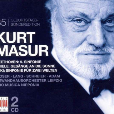 Kurt Masur</br>Beethoven: Symphonie Nr. 9</br>85. Geburtstags-Sonderedition</br>[CD]