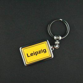 Schlüsselanhänger Leipzig / Leipzig bei Nacht