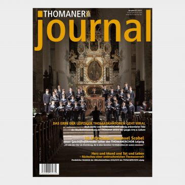 THOMANER journal 03|2019
