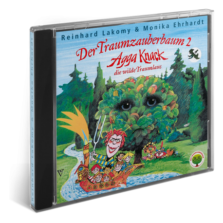 Der Traumzauberbaum 2 - Agga Knack, die wilde Traumlaus I CD