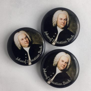 Kühlschrankmagnet Johann Sebastian Bach