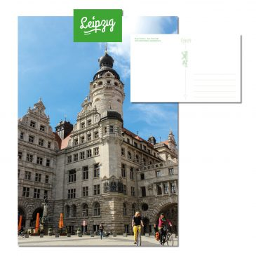 Postkarten Leipzig – Neues Rathaus