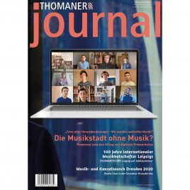 THOMANER journal 01/2020
