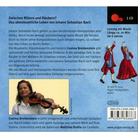 Abenteuer Klassik Bach - Das Leben von Johann Sebastian Bach - voller spannender Anekdoten (Hörbuch: Abenteuer Klassik Bach)