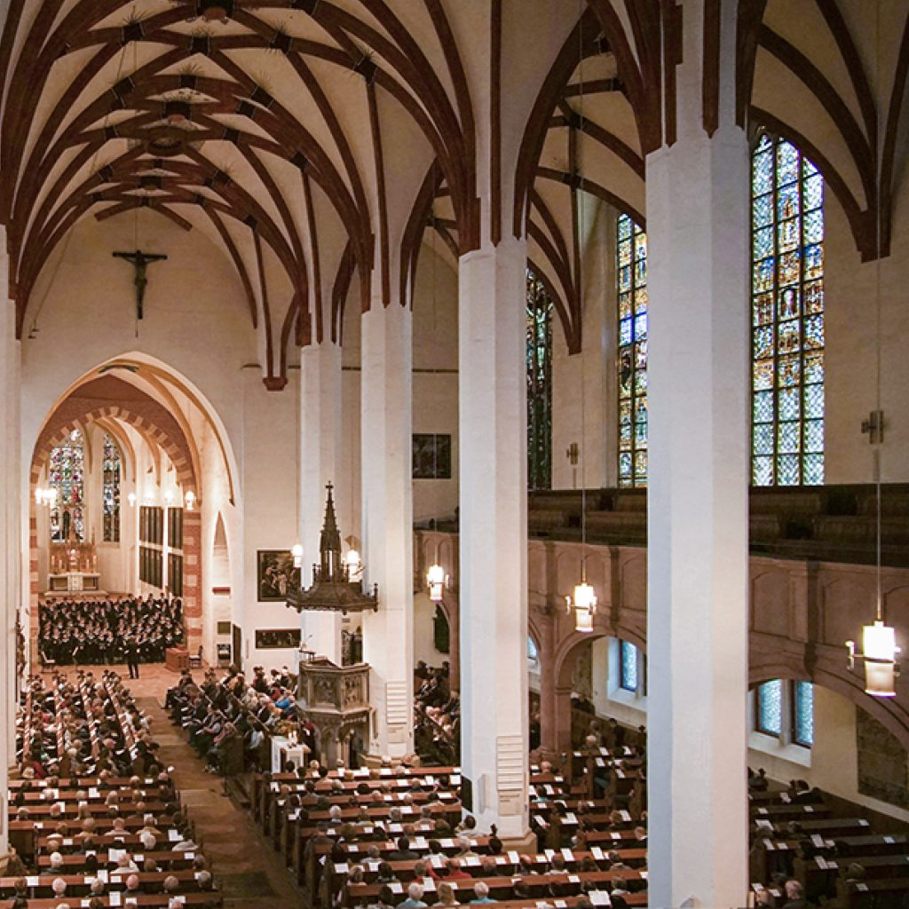 Thomanerchor singt in Thomaskirche