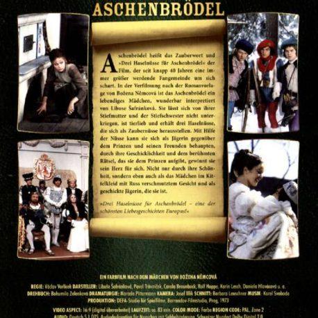 Drei Nüsse für Aschenbrödel DVD Rückseite