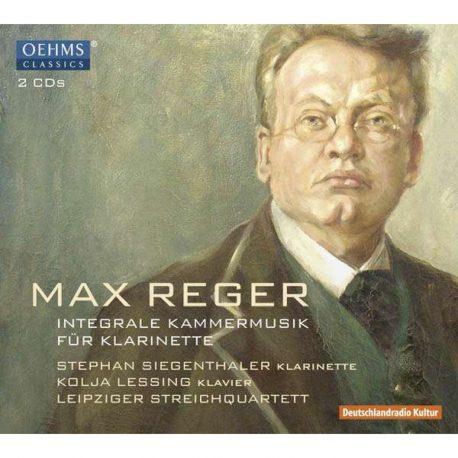 Max Reger Portrait. max-reger-sämtliche-kammermusik-für-klarinette-back-kulturShop-leipzig