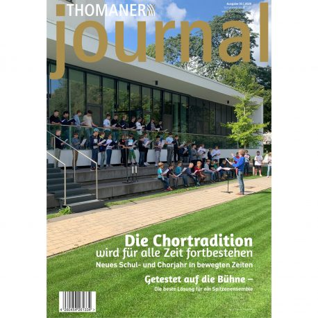 Thomanerchor Leipzig Journal 2020