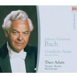 Theo Adam – Bach-Arien [CD/ Thomanerchor]