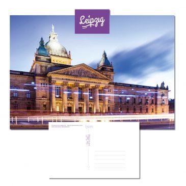 Postkarten Leipzig – Bundesverwaltungsgericht (Leipzig)