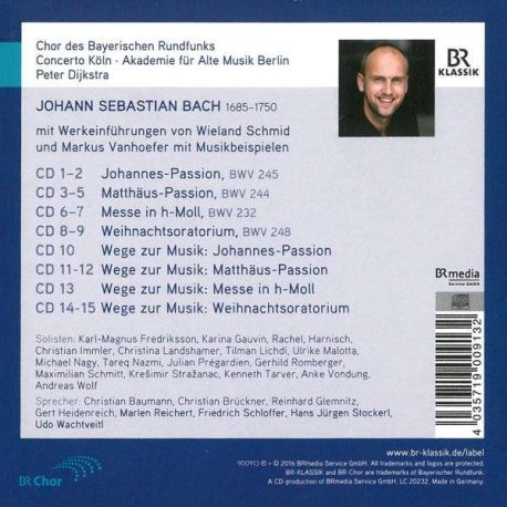 Soli deo gloria Bach CD BOX