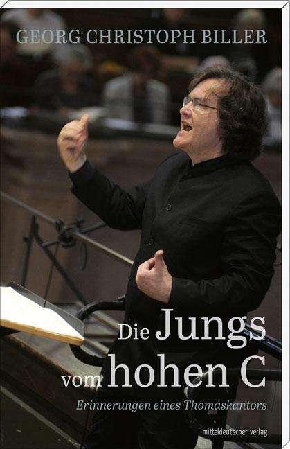 Thomaskantor Georg Christoph Biller dirigiert den Thomanerchor Leipzig in der Thomaskirche Leipzig.