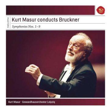 Anton Bruckner Symphonie Nr. 1-9 – Kurt Masur mit Gewandhausorchester